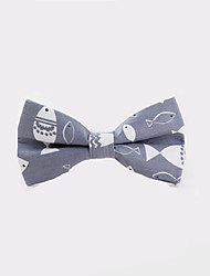 Fashion Men Casual Floral Bow Tie