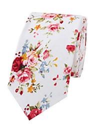 Men's Fashion Casual Floral Tie