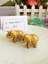 Lucky in Love Lucky Elephant Place Card Holder Beter Gifts® Party Decoration