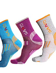 Women's Socks Yoga Camping / Hiking Exercise & Fitness Racing Breathable Thermal / Warm Sweat-wicking Low-friction ComfortableM