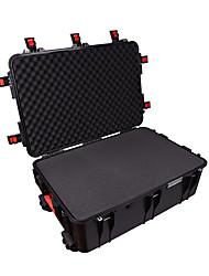 155 L Waterproof Dust Proof Wearable Hardshell Multifunctional Shockproof Black