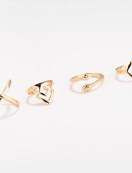 Кольца на вторую фалангу Кольцо Бижутерия Геометрический Мода По заказу покупателя Euramerican Сплав Геометрической формы ЗмеяЗолотой