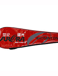 Raquettes de Badminton Etanche Haute résistance Haute élasticité Carbone en alliage d'aluminium 2 pièces pourIntérieur Extérieur