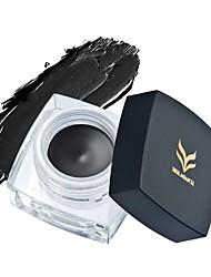 Brand Makeup Eyes Colors Pigment White Black Brown Eye Liner Pencil Maquillage Cosplay Matte Shimmer Waterproof Eyeliner Gel