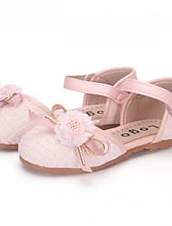 Menina flats primavera verão queda conforto tulle festa&Vestido de noite casual salto liso beading pérola roxa