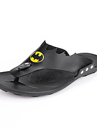Men's Slippers & Flip-Flops Summer Slingback Comfort Light Soles Microfibre Leather Outdoor Casual Flat Heel