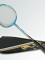 Raquettes de Badminton Etanche Indéformable Haute résistance Durable Fibre de carbone Une Paire pourExtérieur Utilisation Exercice Sport