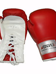 Боксерские перчатки для Бокс Бои без правил Тайский бокс Каратэ Полный палец Дышащий Износостойкий Защитный Регулируется