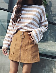 Sign Korea retro chic autumn and winter boots pants Slim was lanky waist wide leg pants casual female culottes