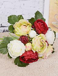 Fleurs de mariage Rond Bouquets Mariage Soie