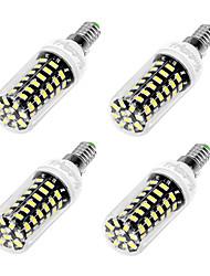 YouOKLight 4PCS E12/E26/E27 3W AC110-130V 64*5733 SMD LED Cold White High Luminous Corn Bulb Spotlight LED Lamp Candle Light for Home Lighting