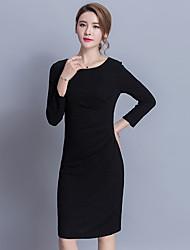 signer robe de soie sud corée printemps 2017 nouvelles femmes coréennes élégance mince jupe creux