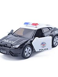 Veículo Militar Carro de Corrida Carrinhos de Fricção Brinquedos de carro 1:25 Metal Preta Modelo e Blocos de Construção