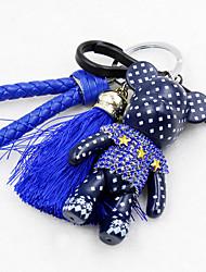 Key Chain Key Chain Red Black Blue Metal