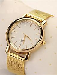 Unisex Fashion Watch Digital Watch Quartz Digital Alloy Band Casual Gold Strap Watch