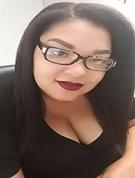 130% Density 100% Human Hair Lace Front Wigs Kinky Straight Brazilian Virgin Human Hair For Women