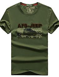Homme Tee-shirt Respirable Séchage rapide Eté Blanc Vert Rouge Gris foncé Noir