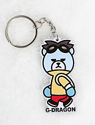 Key Chain Key Chain Blue Plastic