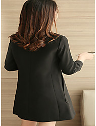 Sign dress spring 2017 new women's black long-sleeved Slim was thin Korean version of the long section bottoming skirt