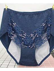 Rétro Fleur Sous-vêtements MoulantsCoton