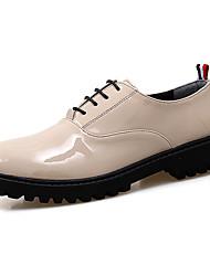 Мужские oxfords весна лето гладиатор ползунки формальная обувь pu свадьба открытый офис&Карьера участника&Вечерние босоножки