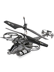 Attop Remote Control Aircraft With Gyroscope Helicopter Avatar Fighters Boy Children Toy Model YD-713