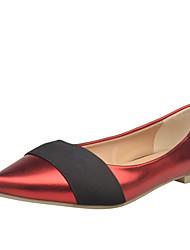 Women's Flats Spring Comfort PU Casual Flat Heel