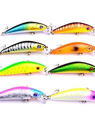 8 pc Esche rigide Trota arcobaleno g Oncia mm pollice,Plastica Pesca di mare