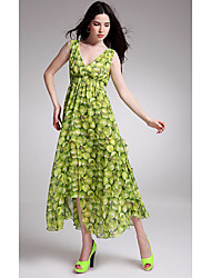 Every summer will burst models flounced dress Breast Specials