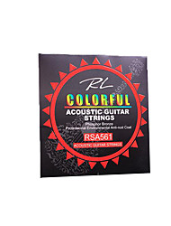 Professional String High Class Guitar Acoustic Guitar New Instrument Metal Musical Instrument Accessories Green Blue Yellow Gold