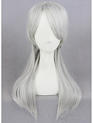 Short Silver Gray The Witcher 3 Wild Hunt Girl Synthetic 18inch Anime Cosplay Wigs CS-270A
