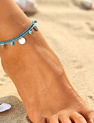 Body Jewelry/Anklet Bracelet Alloy Turquoise Infinity Natural Turkish Handmade Fashion Bohemia Gold Silver 1pc