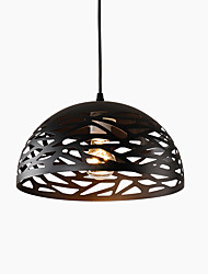 Pendant Light ,  Rustic/Lodge Vintage Retro Painting Feature for Mini Style Metal Dining Room Kitchen Entry Game Room Hallway
