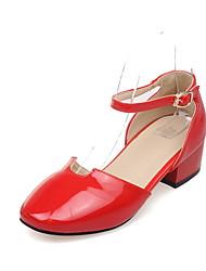 Femme-Bureau & Travail Habillé Décontracté--Gros Talon Block Heel-Confort Flower Girl Chaussures De minuscules talons pour les ados-