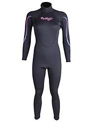 WINMAX Femme 3mm Combinaison  Intégrale Costumes humidesEtanche Garder au chaud Séchage rapide Isolé Respirable Compression Diminue