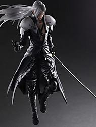 Las figuras de acción del anime Inspirado por Final Fantasy Sephiroth PVC 28 CM Juegos de construcción muñeca de juguete