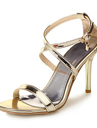 Women's Sandals Spring Summer Club Shoes Patent Leather Party & Evening Dress Casual Stiletto Heel