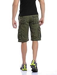 Modèles d'explosion d'été grands yards cinq pantalons coton hommes shorts d'outillage pantalons multi-poche