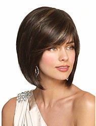 Bobo Wigs Straight Synthetic Women Wig Natural Short Blonde To Black Color Wig