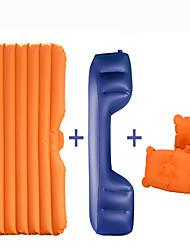 matelas de voiture-lit (135 * 80 * 40cm) oxford avec pompe à air portable lavable gonflable confortable