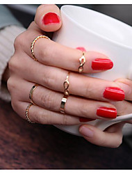 Women's Midi Rings Vintage Alloy Jewelry For Daily