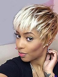 Fashionable   Mixed Color  Short Hair  Synthetic Wig