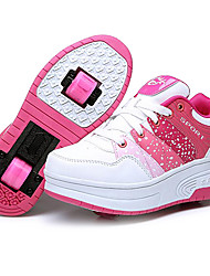 Mulheres Crianças Adulto Sapatos para Skate Anti-Escorregar Anti-Shake Anti-desgaste Ajustável Integrado/Removível Leve ABEC-7 -