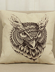 1 pcs Linen Pillow Cover Pillow Case,Novelty Cities Graphic Prints Country Others