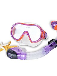 Diving Masks Waterproof Protective Diving / Snorkeling Neoprene Fibre Glass Blue