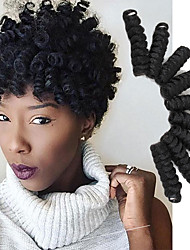 Popular In USA Crochet braids synthetic curlkalon saniya curl hair extension 10inch ombre grey color bug curly braids UK 20roots/pack 5packs make head