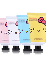 1Pcs Cartoon Cat Hand Cream Makeup  Moisturizing Skin Defender Hand Care Lotion Flavor Cute Cosmetic Color Random