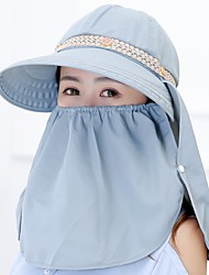 Women 's Summer Mountain Climbing Anti-UV Outdoor Travel Shade Sun Cover Face Masks Flower Printing Visor Cap