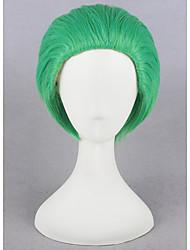 Короче говоря денщик джокер зеленый синтетический 12inch аниме косплей парики CS-269C