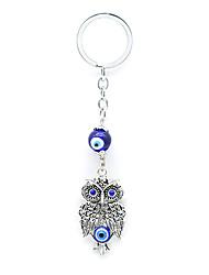 Schlüsselanhänger Vogel Schlüsselanhänger Silber Metall